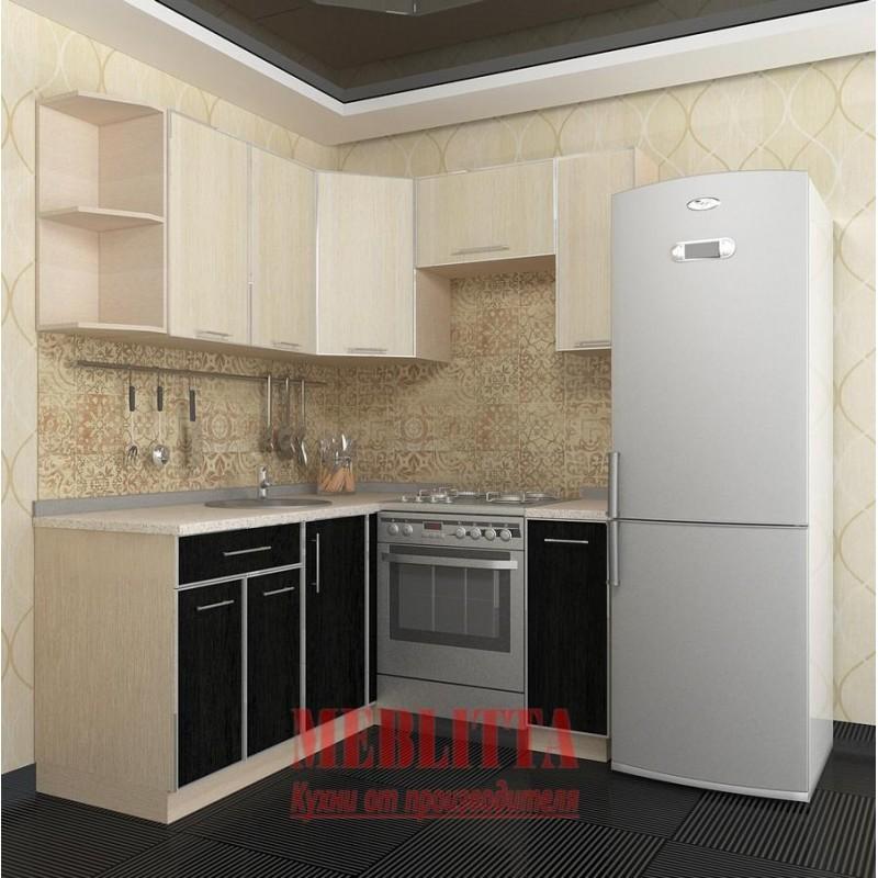 кухни на заказ дешево: Купить-заказать Угловая кухня C местом под холодильник в