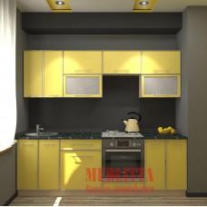 Прямая кухня «Нана» 2,4м.