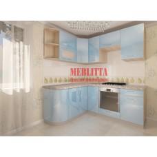 Кухня «Нана» с радиусными фасадами
