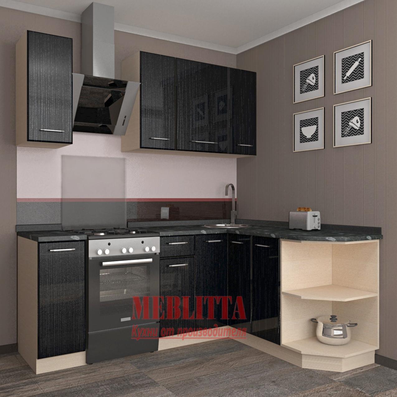 Каталог кухонь с фасадами из пластика
